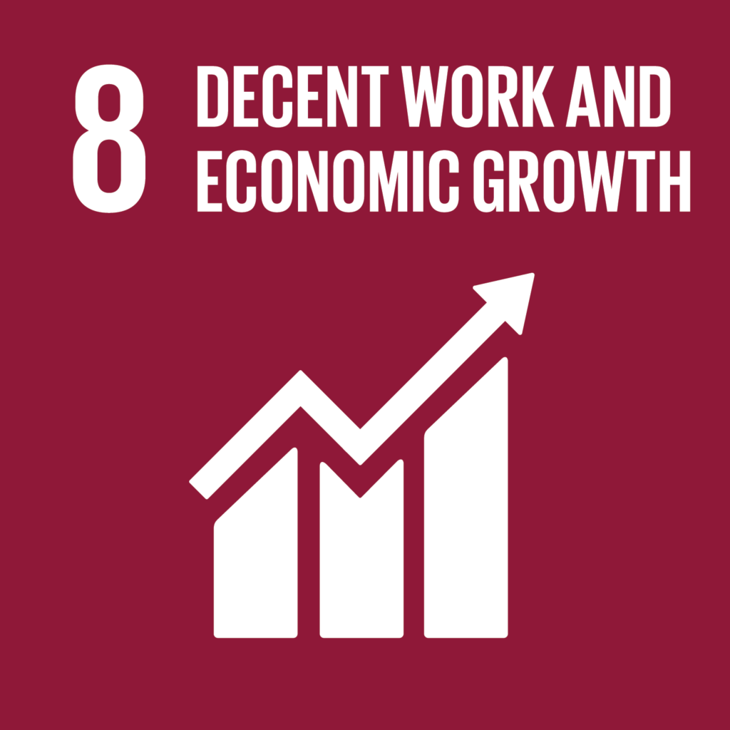 sdg decent work and economic growth impact facility